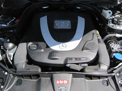 K&N replacement air filter install in a Mercedes Benz G Class, S Class, R Class, SL and SLK Class, GL and GLK Class and C Class models