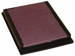 K&N 33-2231 replacement air filter for the 1996-2007 BMW 3-Series, 2004-2006 BMW X3, and 2000-2007 BMW M3