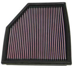 K&N air filter for BMW