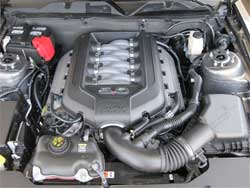 Engine Compartment of 2010 Ford Mustang 5.0L
