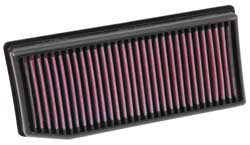 33-3007 K&N replacement air filter for Renault Clio & Dacia Sandero