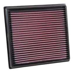 K&N 33-3040 replacement air filter for Vauxhall Corsa Mk IV and Opel Corsa E