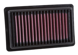 K&N 33-3043 replacement air filter for the 2014, 2015 & 2016 Smart Fortwo and Renault Twingo