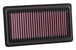 K&N 33-3046 replacement air filter for Fiat Panda and Fiat 500