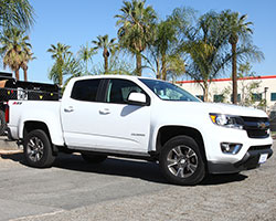 The 305 horsepower optional V6 engine makes the 2015 Colorado and 2015 Canyon the most powerful mid-size pickup currently available in the North American market