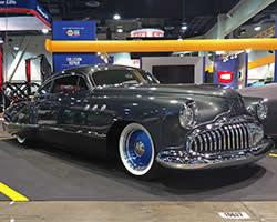 1949 Buick Super 56S Sedanette unveiled at 2015 SEMA Show in Las Vegas, Nevada