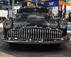 1949 Buick Sedanette finished in Granite color paint from NAPA Martin Senour Automotive Finishes