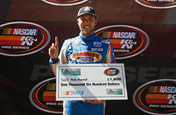 Ryan Partridge won the pole at Utah Motorsports Campus