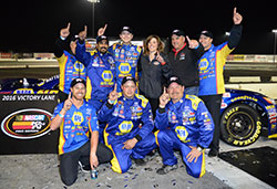 Rookie Todd Gilliland wins third K&N Pro Series race in a row and Starts the 2016 season with a big win
