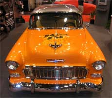 Sunset Pearl is color for 1955 K&N Chevy