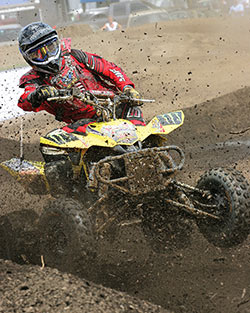 2006, 2007 and 2008 Suzuki LTR 450 QuadRacer with K&N Intake