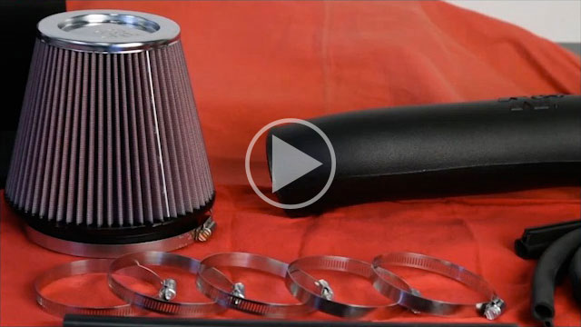 K&N 57-1555 Air Intake Installation Video for 2006-2010 Jeep Grand Cherokee 6.1L
