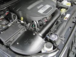 2012-2014 Jeep Wranglers K&N Air Intake Engine