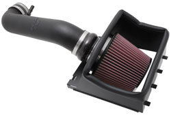 K&N air intake 57-2581 for the 2011-2014 Ford F150 5.0L V8 pickups