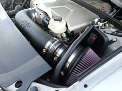 57-3054 K&N air intake system for Gen III LS6 engines