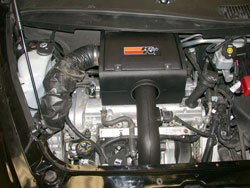 K&N Air Intake Installed in 2006 Chevrolet Chevy HHR 2.4 liter engine