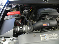 K&N Air Intake 57-3058 Installed in 2007 GMC Yukon with a 5.3 liter V8 engine