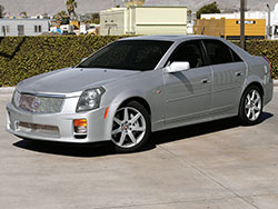 2006 and 2007 Cadillac CTS-V models use the same 6.0L LS2 V8 found in the base 2005 Chevrolet Corvette