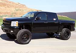 The Chevrolet Silverado 1500 is mechanically identical to the GMC Sierra 1500