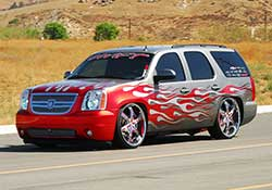 The GMC Yukon is based on the same GM full-size SUV platform as the Tahoe, Suburban, and Escalade