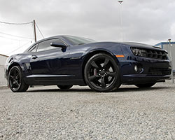 The 2010-2014 Chevrolet Camaro's standard 3.6L V6 is a highly sophisticated engine, but can be improved legally in all 50 states by installing K&N air intake 57-3075