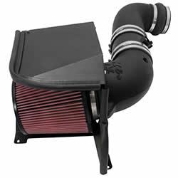 K&N 57-3077 performance air intake system for the Chevy Silverado or GMC Sierra Duramax