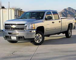 2014 Chevrolet Silverado 2500 HD can take a K&N air intake system