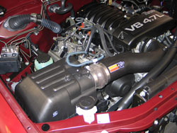 Air Intake installed on Toyota Tundra