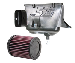 K&N 57S-9505 air intake system upgrades the VW Polo 6R