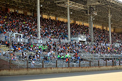 Grandstands at the Illinois State Fairgrounds
