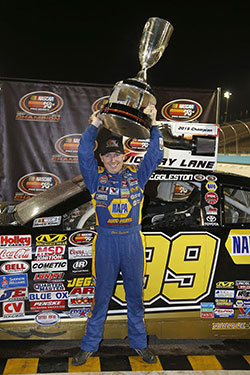 Chris Eggleston won 2015 NASCAR K&N Pro Series West