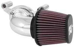 K&N 63-1131P air intake for Harley-Davidson motorcycles