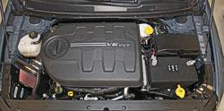 2015-2016 Chrysler 200 3.6L Pentastar V6 K&N Intake System