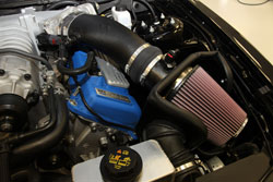 K&N Air Intake Installed on a 2011 Ford Mustang Shelby GT500 5.4L