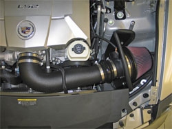 K&N Air Intake installed on 2007 Cadillac CTS-V 6.0L V8