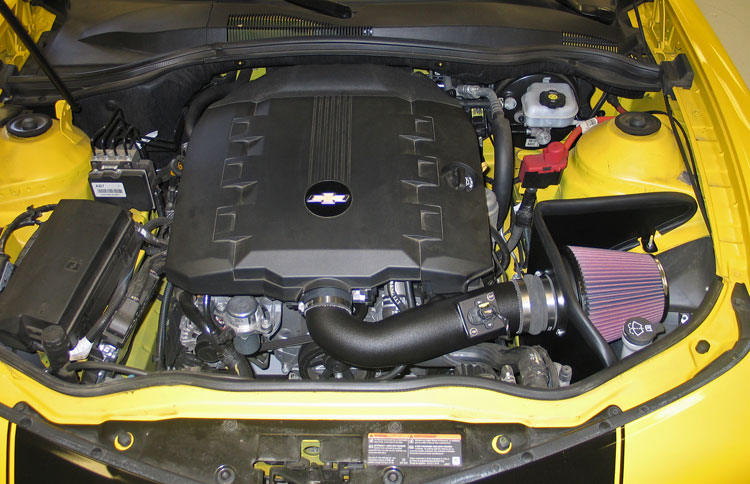 2010 Chevy Camaro 3.6L V6 Gets Almost 15 Horsepower from New Air ...
