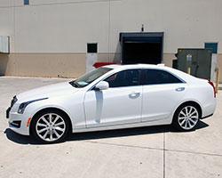 2015 White Cadillac ATS