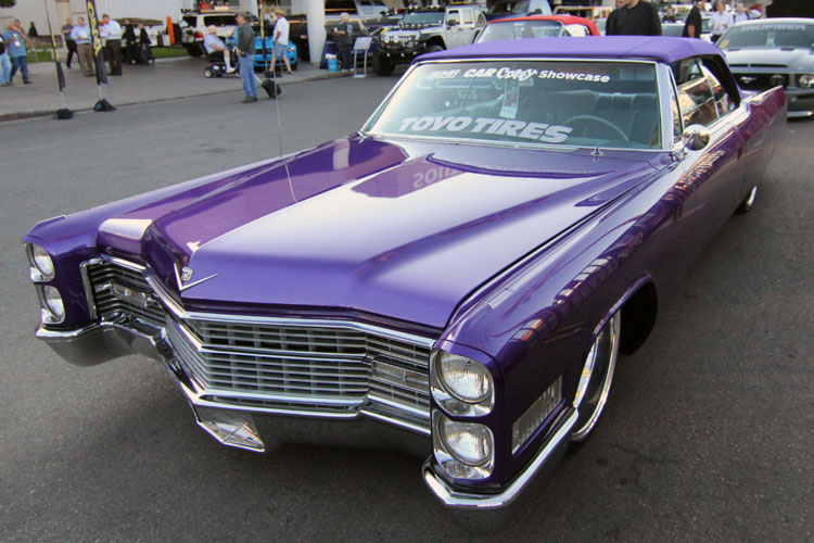 Carlos Campbell Brings Custom 1966 Cadillac DeVille to the ...