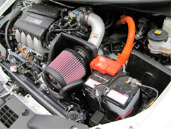 K&N Air Intake Installed on 2011 Honda CR-Z 1.5L