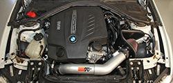 BMW 335i Engine Bay with K&N Air Intake