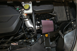 K&N Ford Escape air intake 69-3537TS installed