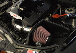 K&N Air Intake Installed on 2010 Chevrolet Camaro 3.6L V6