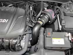K&N Air Intake Installed on 2011 Hyundai Sonata 2.4L GDI