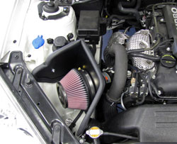 K&N Air Intake Installed on 2010 Hyundai Genesis 2.0L
