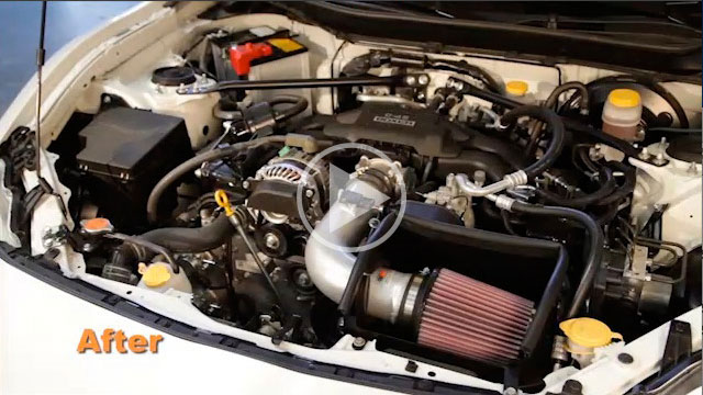 K&N 69-8619TS Air Intake Installation Video for 2013 to 2016 Subaru BRZ / Scion FR-S 2.0L and 2012 to 2016 Toyota GT86 2.0L