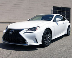 K&N air intake 69-8704TP will fit the 2015 Lexus RC350, IS250, or IS350 but is not legal for sale or use on these models in California or other states adopting California emissions standards