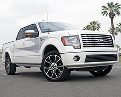 2012 Ford F150 Harley-Davidson edition pickup with a 6.2L V8 engine