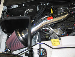 K&N Air Intake 77-1559KP Installed in 2008 Jeep Liberty 3.7L engine