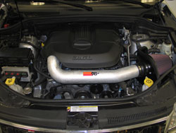K&N Air Intake Prototype Installed on Jeep Grand Cherokee