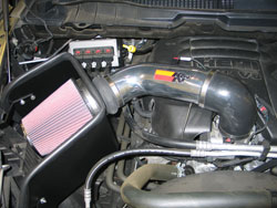 K&N Air Intake Installed on 2009-2016 Dodge Ram 1500 V8 5.7L
